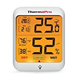 ThermoPro TP53 digitales Thermo-Hygrometer Thermometer Hygrometer Raumluftberwachtung...