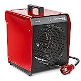 TROTEC TDS 50 E Elektroheizgebläse (max. 9 kW) Integriertes Thermostat 2 Heizstufen...