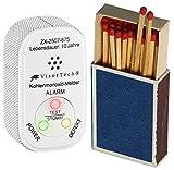 VisorTech Gasmelder: Mini-Kohlenmonoxid-Melder mit 10-Jahres-Batterie, DIN EN 50291-1 (CO...