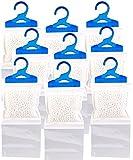 Sichler Haushaltsgeräte Raumentfeuchter: 9er-Set XL-Kleiderschrank-Entfeuchter zum Aufhängen,...