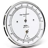 Fischer 111.01T Haar-Hygrometer mit Thermometer, Manufaktur aus Deutschland