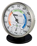 TFA Dostmann Przisions Thermo-Hygrometer, 45.2033, zur Raumklimakontrolle