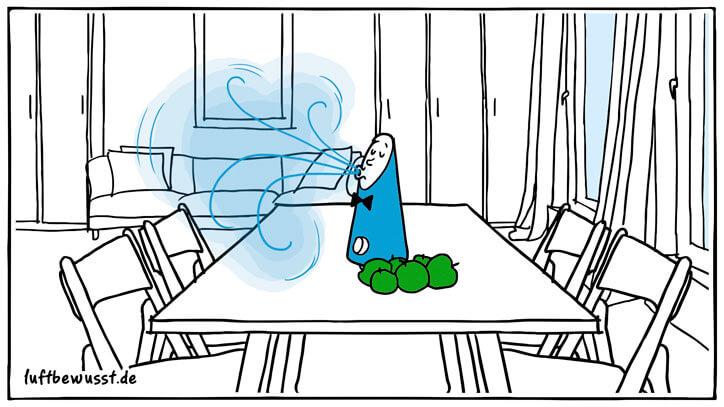 Luftbefeuchter für den Tisch