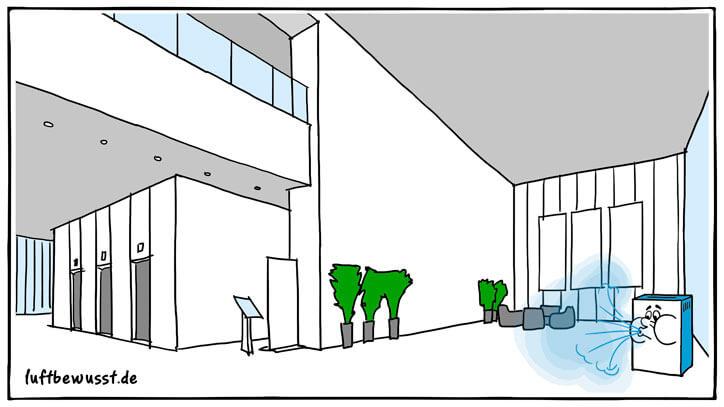 Luftbefeuchter für große Räume ab 40qm