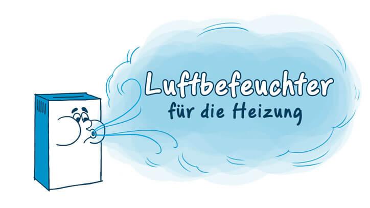 Luftbefeuchter für die Heizung » Modelle, Info & Tipps