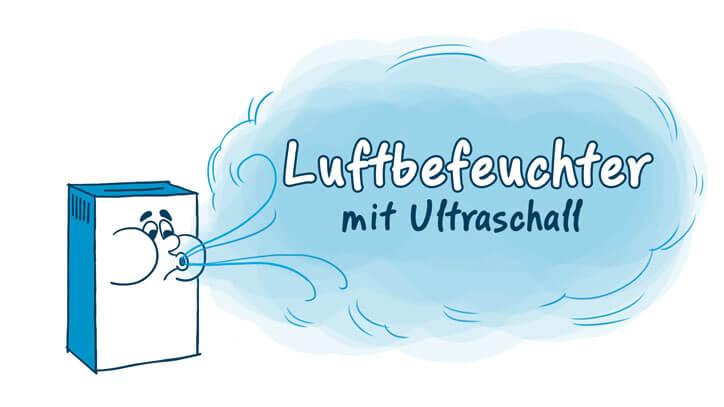Luftbefeuchter mit Ultraschall
