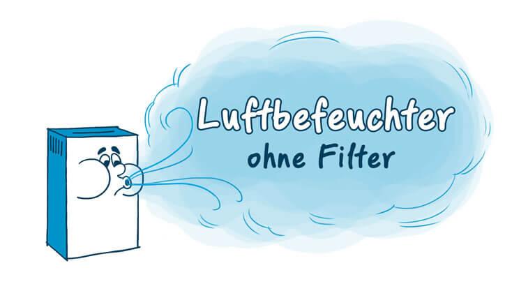 filterlose Luftbefeuchter