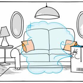 Mit einem Luftreiniger Staub ausfiltern – sinnvoll und effektiv?