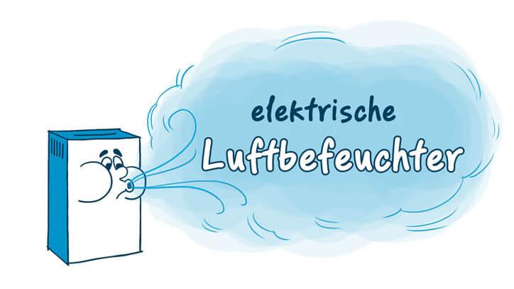elektrische Luftbefeuchter