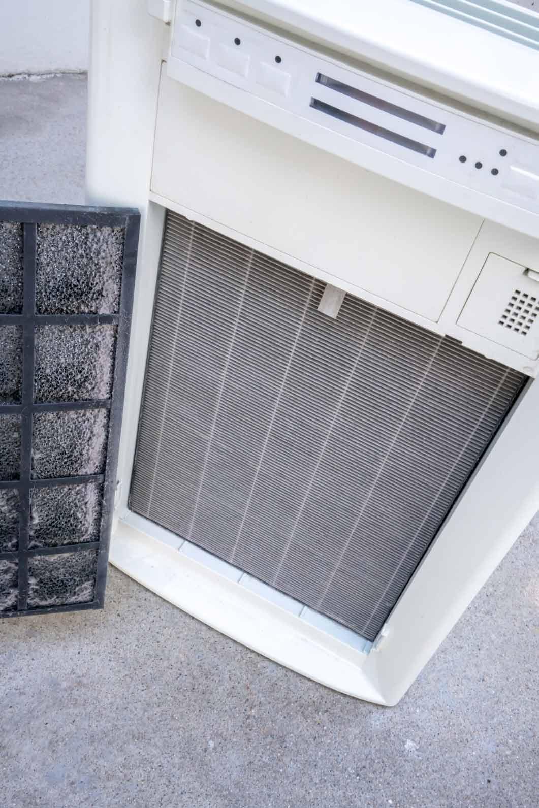 Wechsel Luftreiniger HEPA-Filter