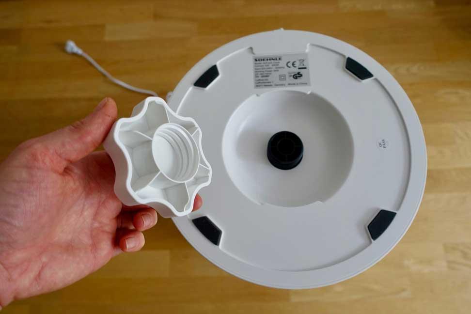 Schraube für Filterwechsel