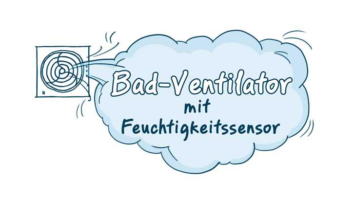 Bad Ventilatoren Mit Feuchtigkeitssensor Top Badlufter Infos Tipps