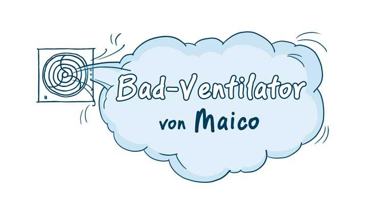 Extrem Maico Bad-Ventilatoren » Top Marken-Badlüfter, Infos & Tipps RD54