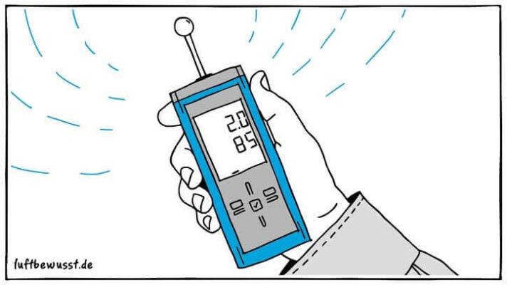 Feuchtigkeitsmessgerät