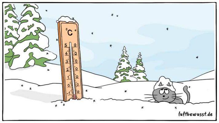 Frostwächter bei kalten Temperaturen einsetzen
